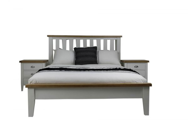 white federation bed suite