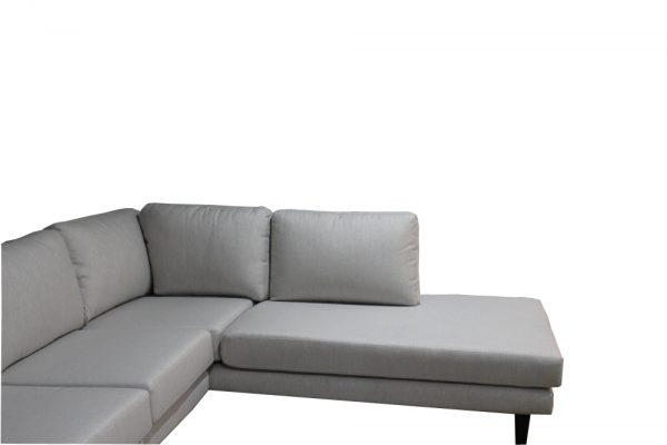 fabric sofa with chaise