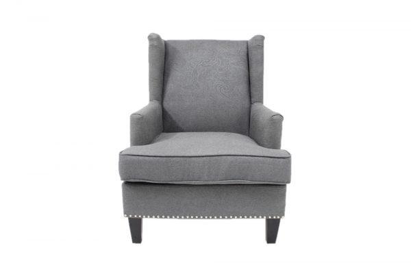 Barcelona grey high back chair