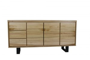 dining buffet messmate timber 3 door 3 drawer