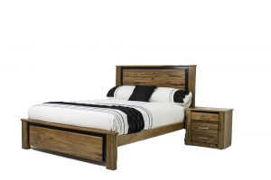 marri timber queen bed