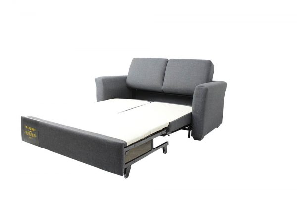 sofa bed fabric glide out