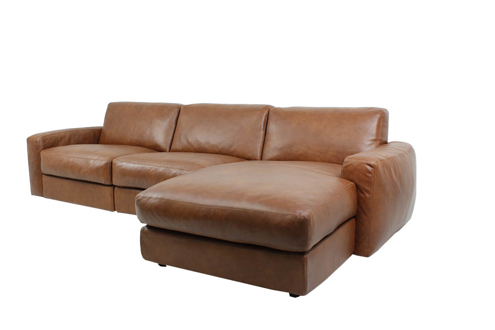Italian leather cannes sofa