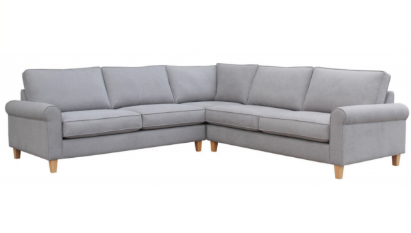 fabric corner sofa samanaha
