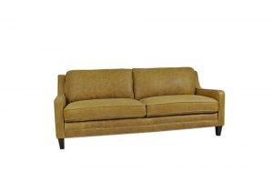 leather raw beautiful 2 seater