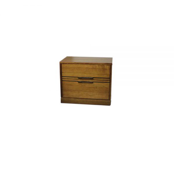 blackwood bedside 2 drawer