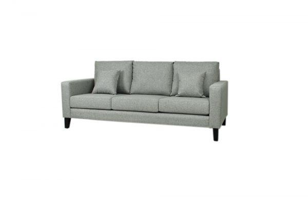 nova 3 seat fabric sofa
