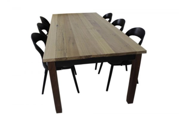 large dining table reclaimed timber