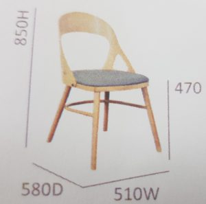 dining chair sizes