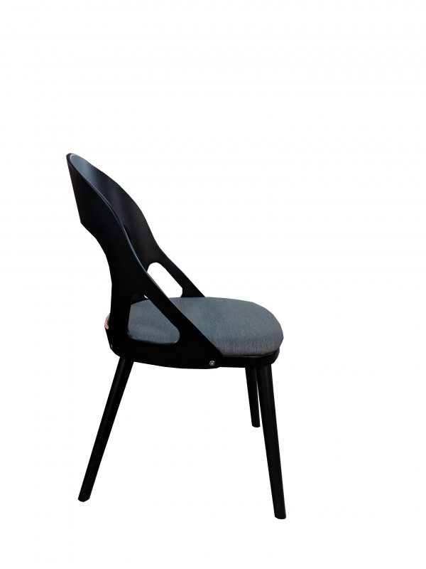 side view dining chair oslo
