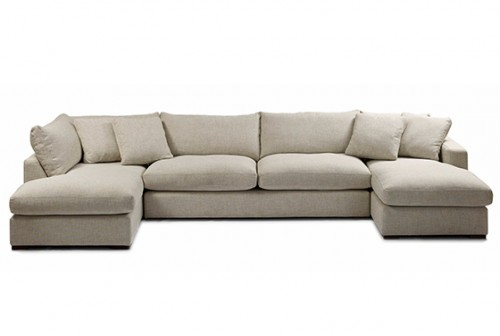 cream sofa with chaise loose cushions large