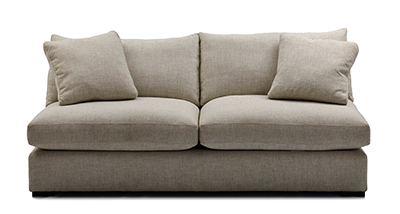 armless shona sofa