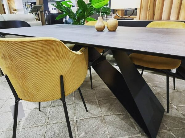 yellow dining chair modern dinin