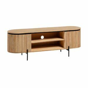 low line tv console mangoe wood
