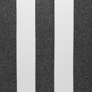 black and beige stripe fabric