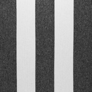 black and beige stripe fabric