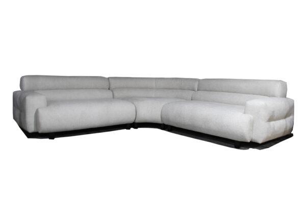 modern corner fabric sofa