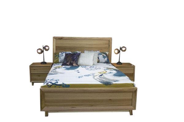 messmate bed and bedsides