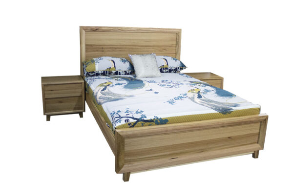 messmate timber bed